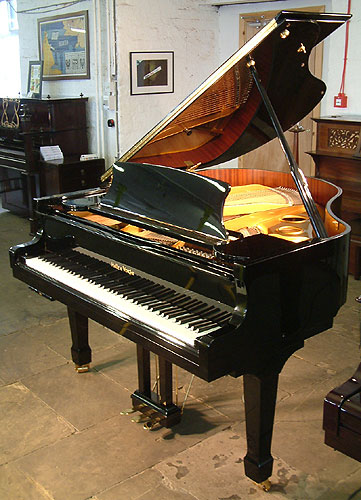 Halle & Voight grand Piano for sale with Pianoforce player system installed.