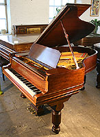 Steinway Model S Grand Piano For Sale with a black case