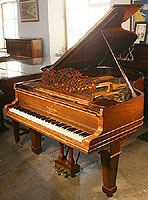 Steinway Grand Piano For Sale with a rosewood case