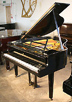 Steinway Model S Grand Piano designed by Swedish Architect Ivar Tengbom who designed the Stockholm Concert Hall, the stage for the Nobel Peace Prize