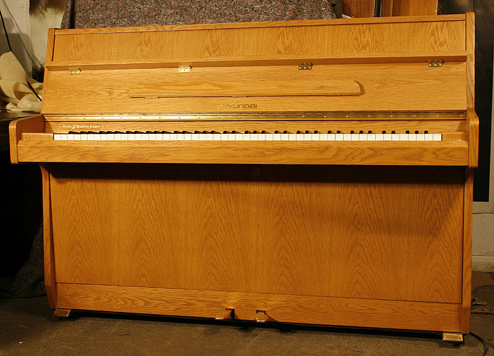 Hyundai U810 upright Piano for sale.