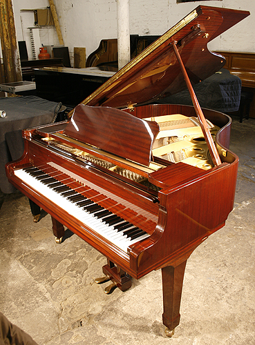Mahogany yamaha g2 grand piano for sale specialist for How big is a grand piano
