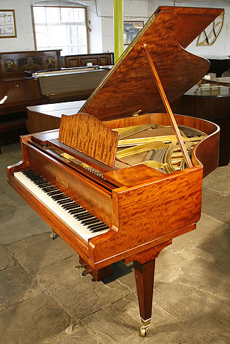 Mahogany Bluthner grand Piano for sale.