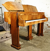 Artcase,  Walnut Strohmenger Baby Grand Piano For Sale