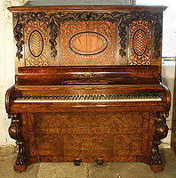 Charles Smart upright piano