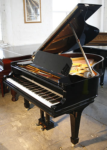 Steinway model o grand piano for sale with a black case a for Big grand piano