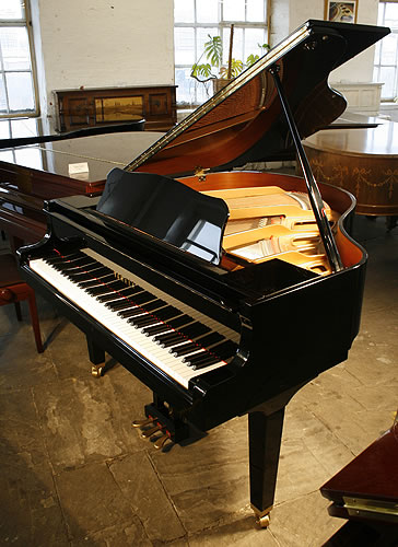 Yamaha ga1 grand piano for sale with a black case modern for Yamaha g1 piano