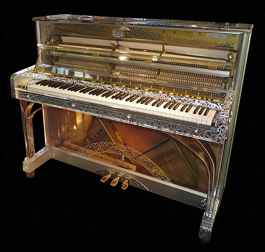 Gary Pons SY115 Royal Platinium R  upright piano for sale.