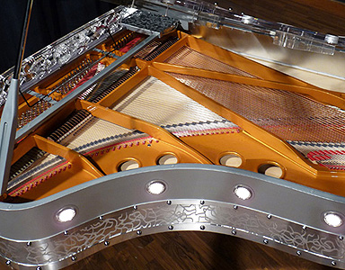 Gary Pons SY215 Boudoir Grand Piano for sale.