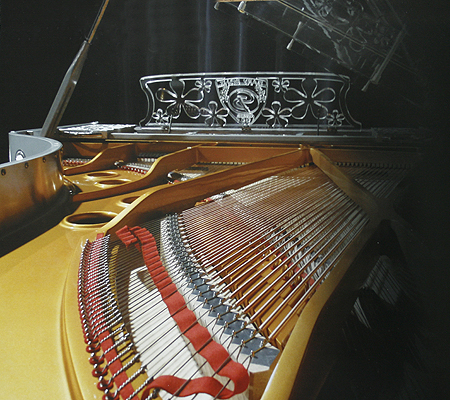 Gary Pons SY278 Platinium R Concert Grand Piano for sale.
