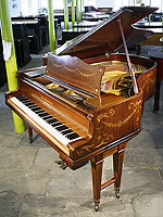 Inlaid Schiedmayer Grand Piano
