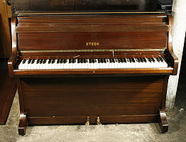Steck upright piano