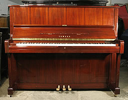Yamaha U1A Upright Piano For Sale with a mahogany case