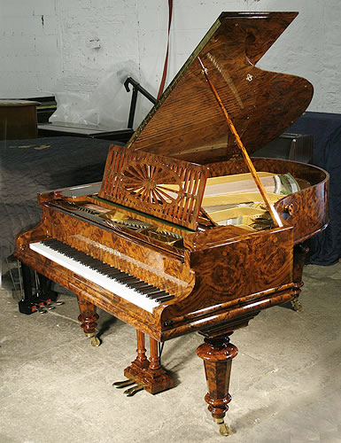 Antique bechstein model a grand piano for sale with a for Big grand piano