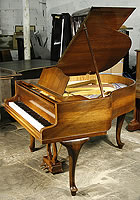 Walnut Bluthner Grand Piano For Sale